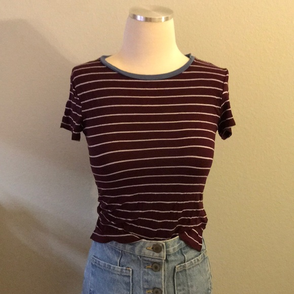 "American Eagle Outfitters Tops - AEO ""Soft & Sexy"" Striped Tee"